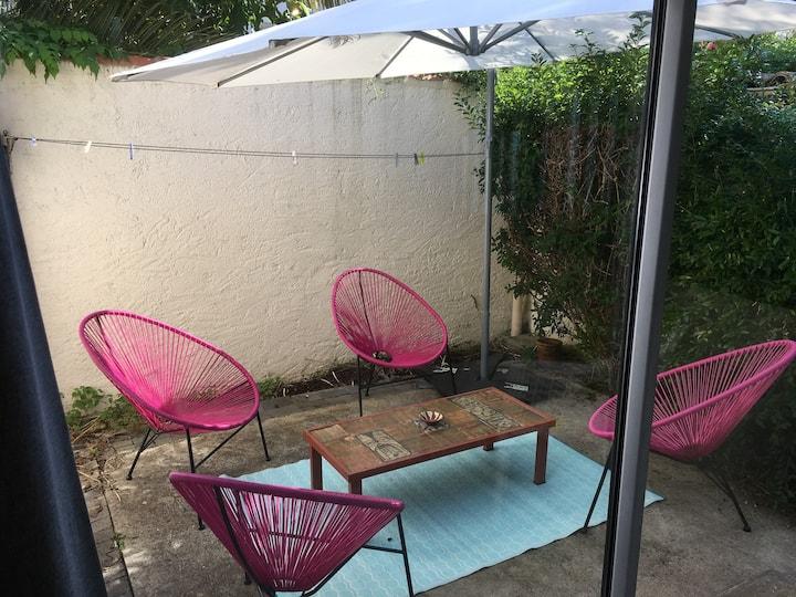 Maison climatisée ☀ patio🛥port ⛱ plage - Minimes