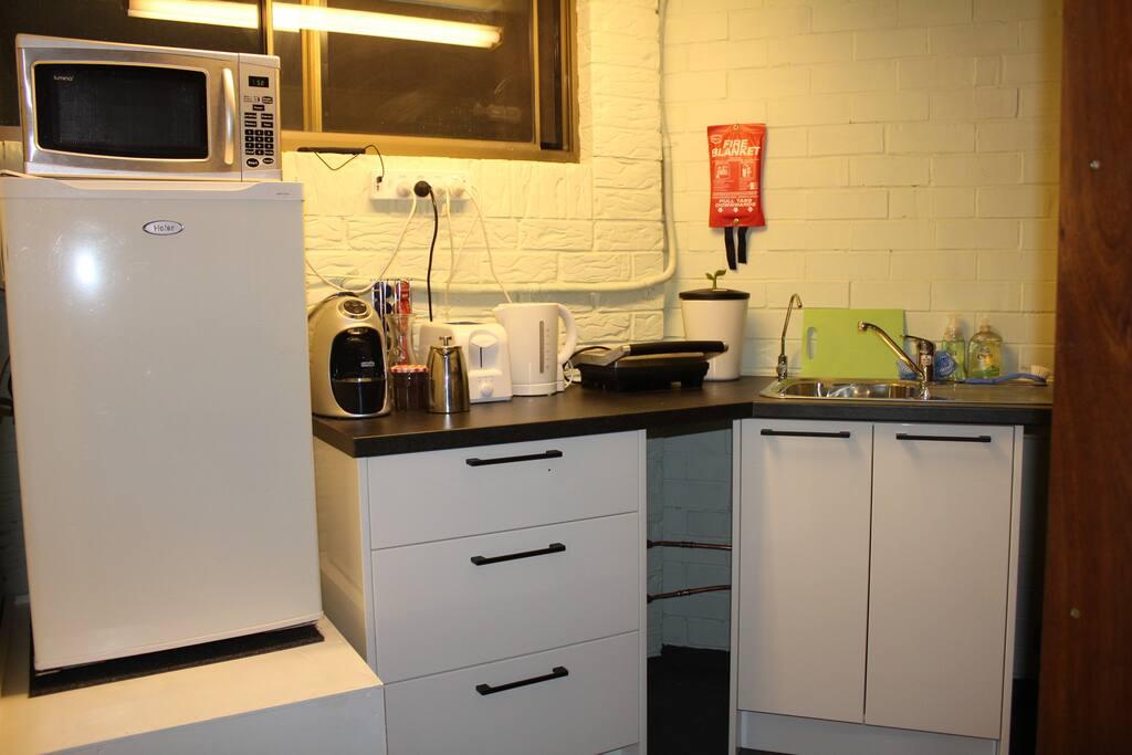 Newly refurbished kitchenette