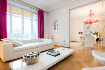 Beautiful Apm't in central Geneva (NB Guest Room)