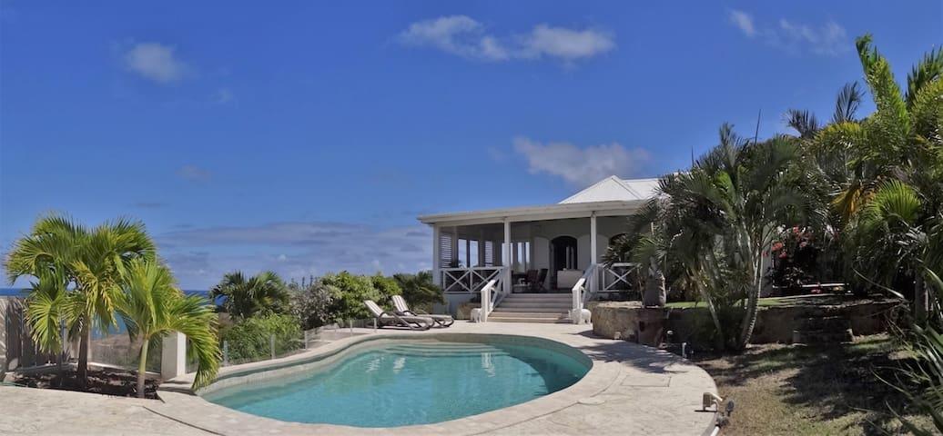 Osprey House, a hidden gem on a tranquil hillside.
