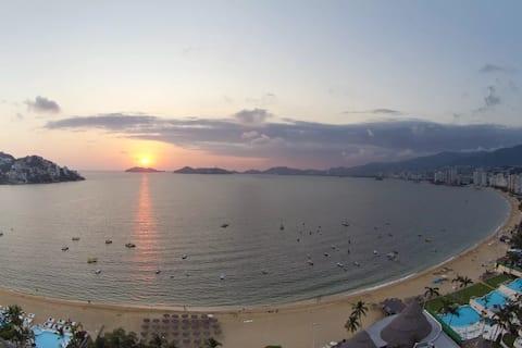 Departamento de lujo frente a la Playa de Acapulco