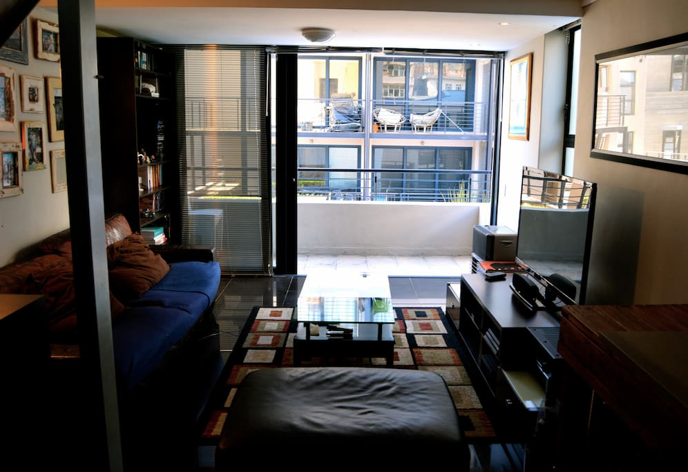 Downstairs Lounge & Balcony