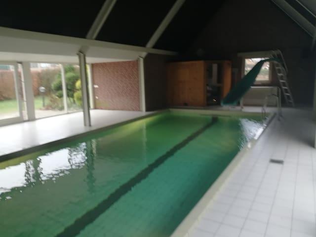 Villa Lyane,  indoor pool heated, Sauna