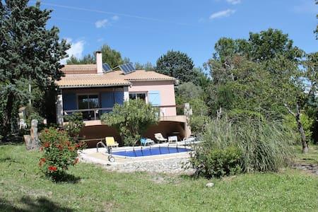 Grande villa + piscine à côté golf - Pierrevert