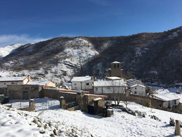 Casa en pequeño pueblo, La Rioja, para desconectar