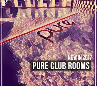 Pure Club Rooms #4 Includes Events - Laganas