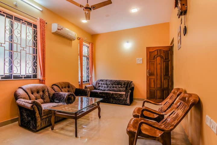 Comfortable 1 BHK apartment near Colva & Majorda 2