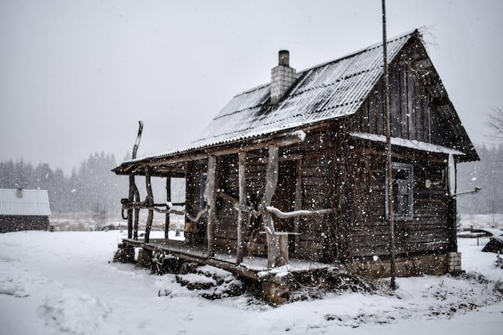 Наш домик, зима. Winter time.