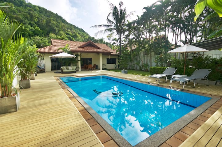 Peaceful Pool Villa in Lush Hills - Free Transfer