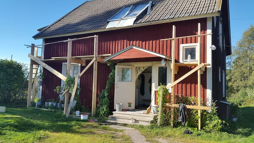 Bottomfloor appartment in old farmhouse - Torsby - Appartement
