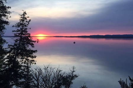 Enjoy the beautiful sunsets of Lake Superior