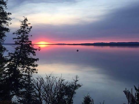 Enjoy Lake Superiors beautiful sunsets
