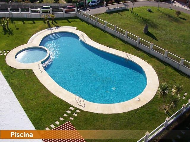 Apartamento Baiona primera linea de mar. - Ponte - Wohnung