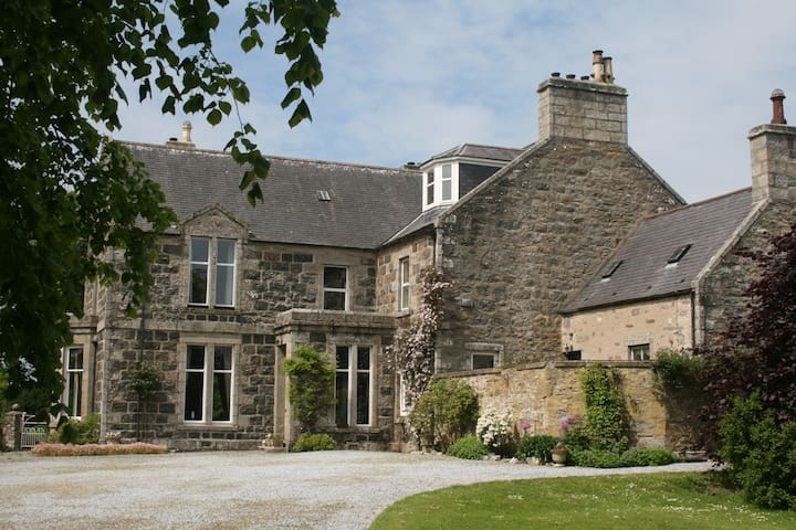 Large country house near Keith, Moray (Bedroom 2) - Moray - Hus
