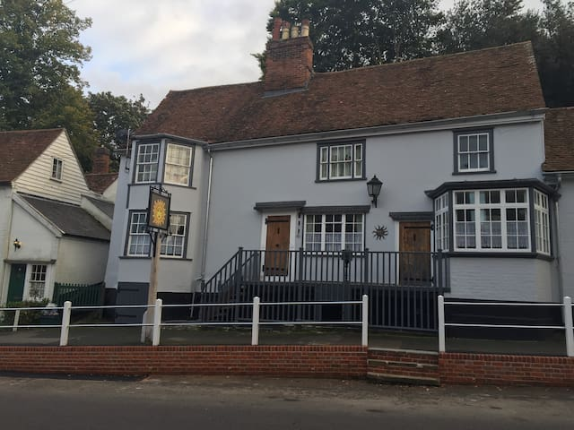 The Rising Sun in Picturesque Lexden Colchester