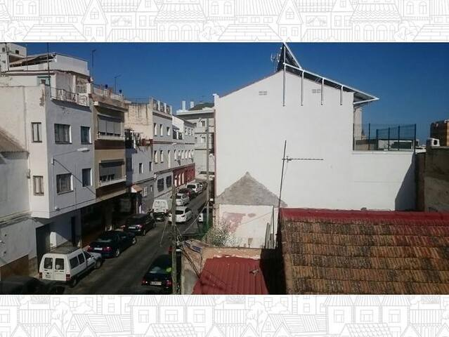 Old renovated house with patio and terrace - Málaga - House