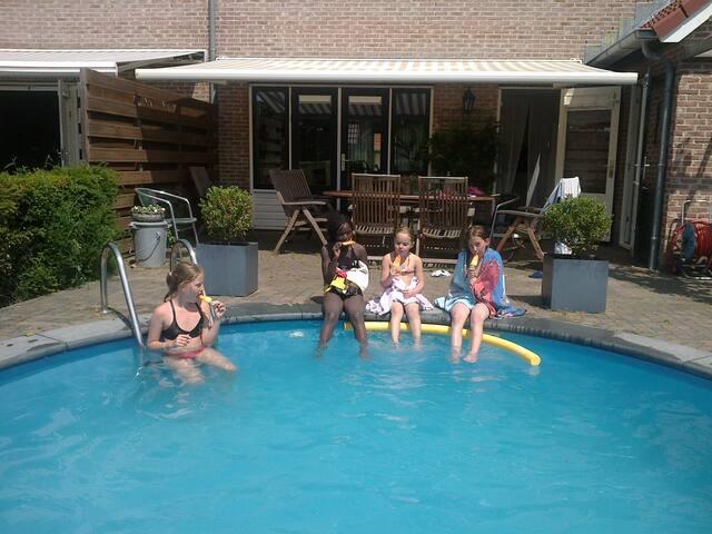 Vakantievilla Time Out met verwarmd zwembad