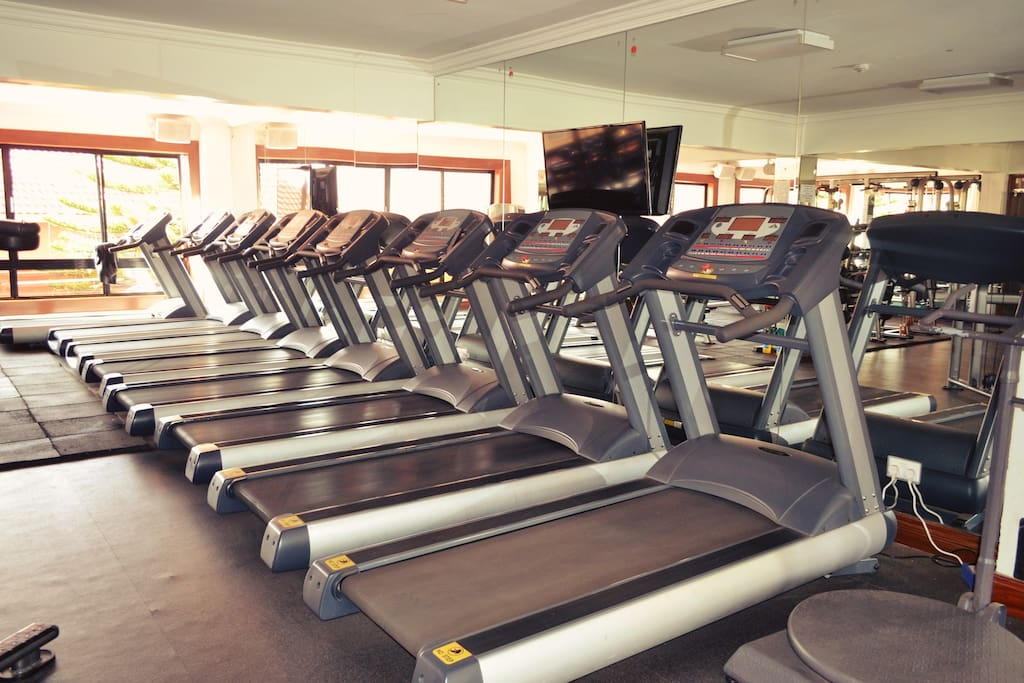 Stay fit at our fully equipped state-of-the-art gym.