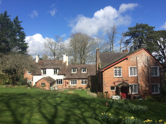 Countryside B&B in Athelhampton; Double room - Puddletown