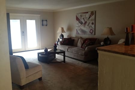 Beautiful, Spacious 2/2 Condo in Nice Area - Fort Worth - Osakehuoneisto