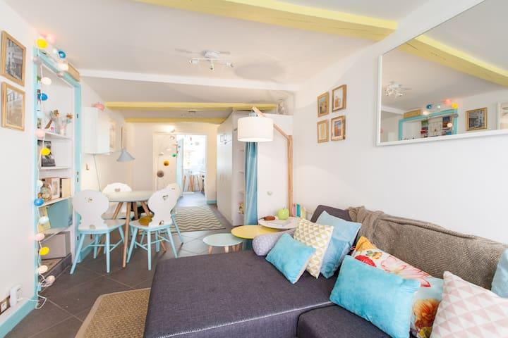 La Petite Pomme d'Or 1 bedroom flat - Sélestat - Lägenhet