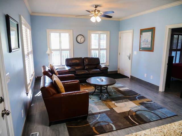 Cottage B living room