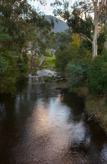Beautiful Yarra river, Warburton