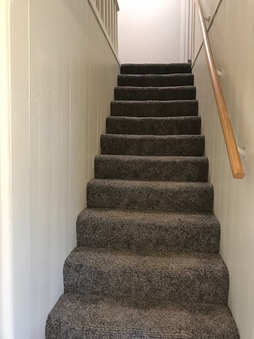 Stairway to 2nd Floor Suite #5