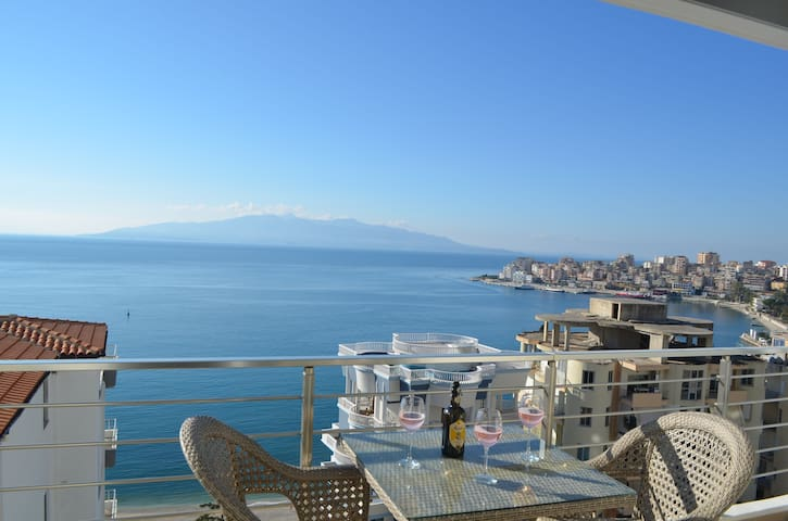 Luxury Apartment with sea view - 181 - Sarandë - Apartment