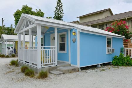 """Cottage by the Sea"" 1 bedroom across from beach - Siesta Key - Cabane"