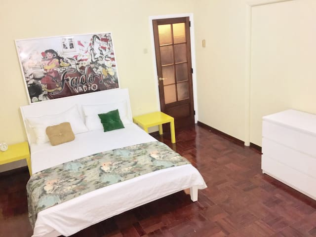 Marques do Pombal Double Room - Lisboa - Bed & Breakfast
