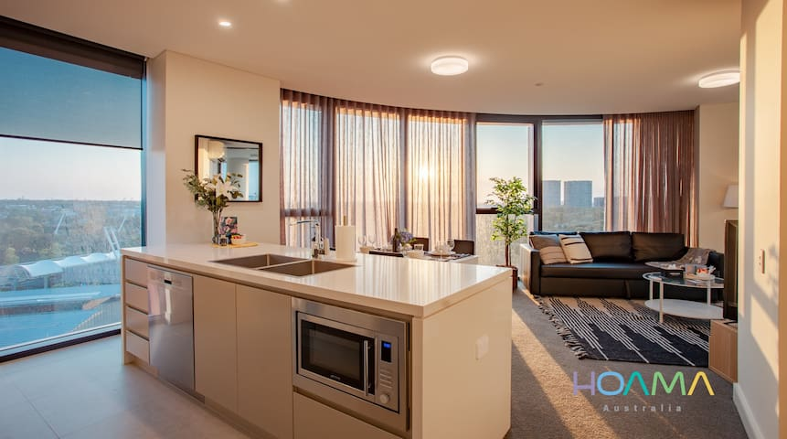 HOAMA - Brand New Apartment with 180° Sunset View