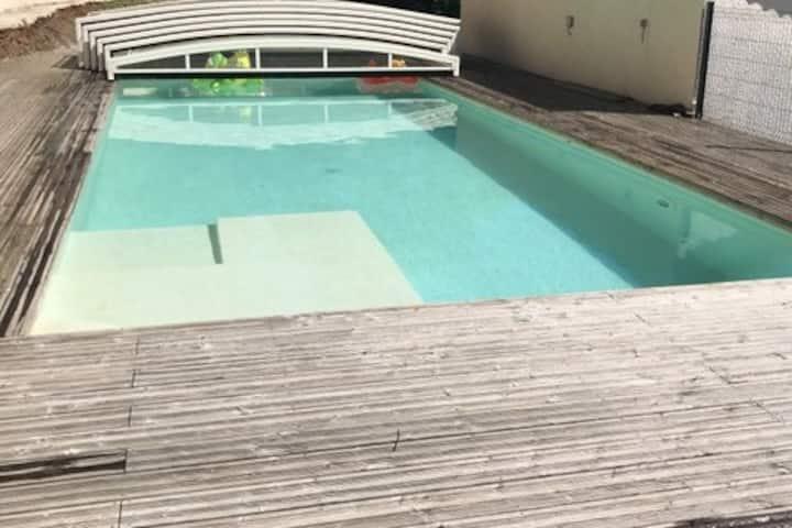Villa avec piscine au cœur des Cévennes
