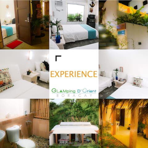 Boracay Glamping Villa 3 AC Rooms with POOL ★★★★★