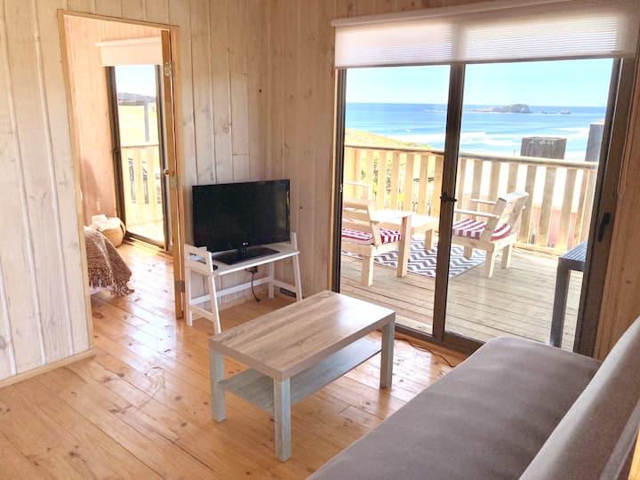 Vista Mar Cabin, in front of the ocean