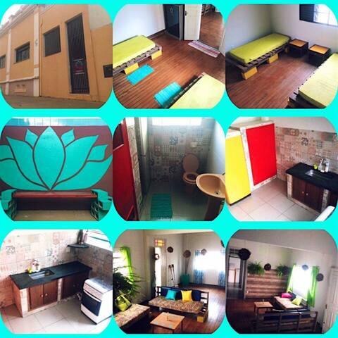 Namaste Home e Hostel Araraquara ❤️ - Araraquara - Pousada