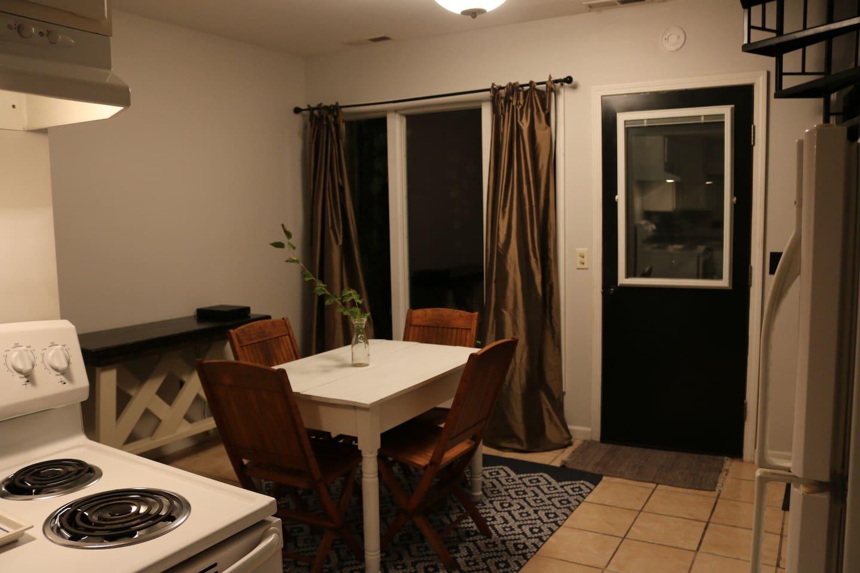 Kitchen/Dining/Bathroom