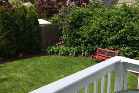 Your home away from home - Private fenced backyard