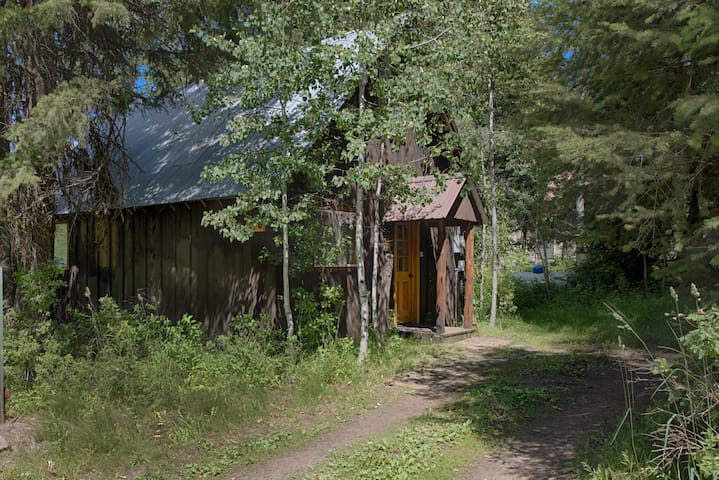Tervetuloa! Welcome to our Finnish-style cabin.
