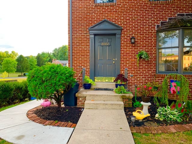 End Unit Townhouse in a great location.