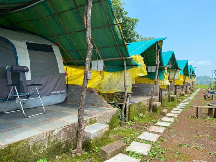 Deluxe tent near Igatpuri.