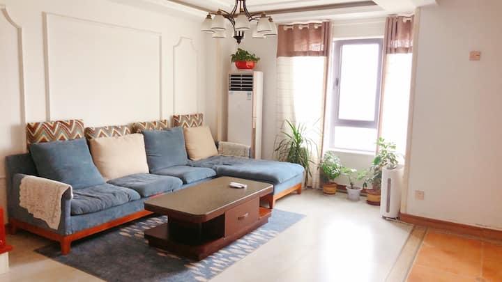 颐高上海街二期青春•派田园风格暖气二居家庭房