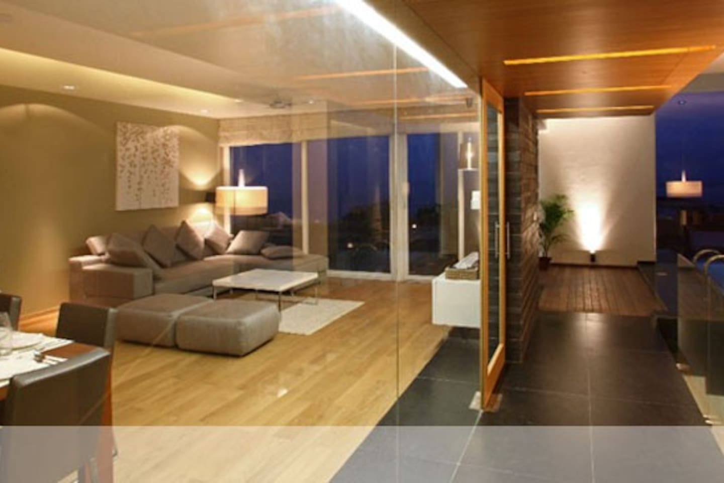 Living Space & Private Plunge Pool