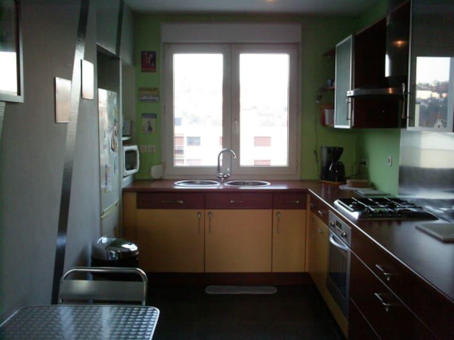 Appart 39 meubl nancy laxou 90m 1 6 personnes for Appartement meuble nancy