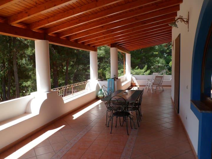 Casa Lipari in Tipica Villa Eoliana