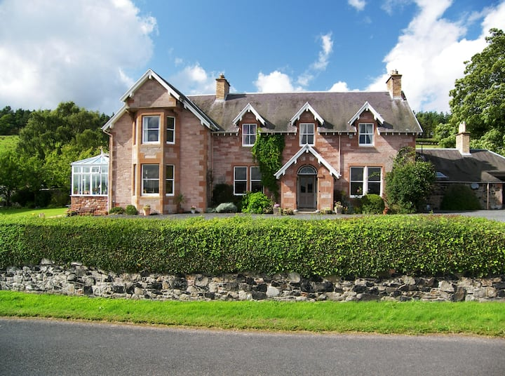 Large house in Scottish Borders