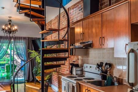 Downtown, Affordable, Unique and well designed. - Montréal - Loft