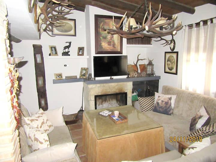 House with 5 bedrooms in El Alcornocal, with furnished terrace and WiFi