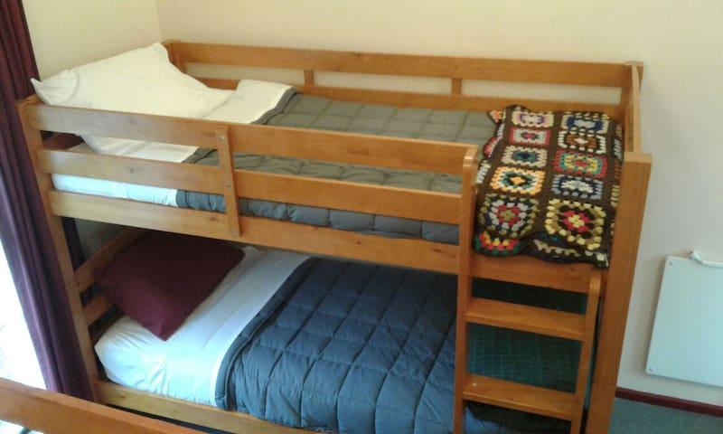 Beautiful sturdy and comfortable beds with all new bedding.