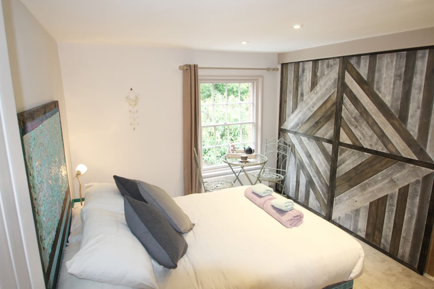 Our lovely guest room